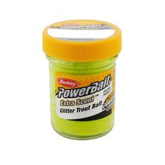 Glitter Trout Bait - Chartreuse