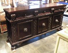 Renaissance Architecture - Custom Old World Furniture, Custom Tuscan Furniture