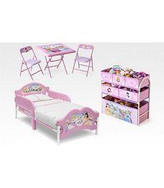 Habitación infantil Princesas Disney. Delta Children 99451PS