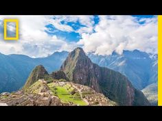 Machu Picchu is a testament to the power and ingenuity of the Inca empire. Built without the use of mortar, metal tools, or the wheel, Machu Picchu stands Inca Empire, Andes Mountains, World Geography, Galapagos Islands, Machu Picchu, Virtual Tour, Long Distance, National Geographic, South America