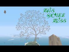 Minecraft - Worldtour/ My build: The glass tree - YouTube