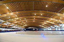 Richmond Olympic Oval Vancouver I Britisk Colombia Canada