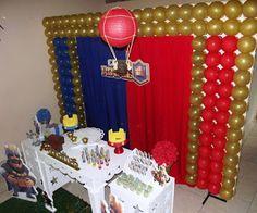 Mamãe Fazendo a Festa em Casa: Decoração Clash Royale - Steffanina Decorações de Festas e Lembrancinhas Personalizadas