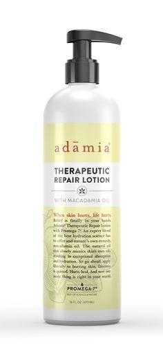 Restore Hurting Skin: Adamia® Therapeutic Lotion Moisturizes And Repairs Thin Skin.
