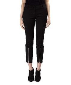 Women's zip ankle trousers by McQ by Alexander McQueen on secretsales.com