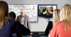 A video conferencing solution with all the embedded features is a best tool for e-learning. The white board sharing option enables the tutor to explain a concept by writing on the board with the help of wireless pen.