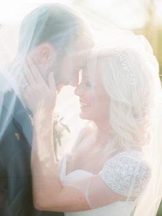Veil and golden hour moments #cedarwoodweddings Courtney+Adam :: 10.29.2016 | Cedarwood Weddings