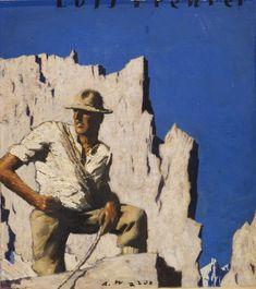 """ALFONS WALDE Luis Trenker """"Meine Berge"""", Um 1930."""