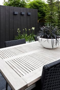 Do you like the black fence trend? Vote now on HGTV's Design Happens blog!