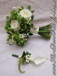 White Wedding Flowers Crooke Church Waterford. Rose, Calla, Freesia, Bouvadia Wedding Bouquet, Calla Buttonhole White Wedding Flowers, Church Wedding, Wedding Bouquets, Rose, Pink, Wedding Brooch Bouquets, Bridal Bouquets, Wedding Bouquet, Roses