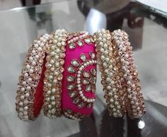 """to shop """"Handcrafted Bangles"""" collection visit our fb page https://www.facebook.com/handcrafted.bangles/photos_stream"""