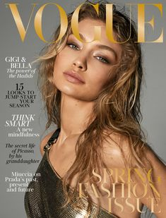 ☆ Gigi Hadid | Photography by Steven Meisel | For Vogue Magazine UK | March 2018 ☆ #Gigi_Hadid #Steven_Meisel #Vogue #2018
