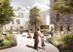 Danish firms JAJA Architects and ONV Architects, in collaboration with Bascon and Scandi Byg, have won the fourth delivery of the affordable housing concept AlmenBolig+. The o...