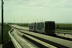 DFW 2 vehicle train #podcar #retrotransportation  #advancedtransit