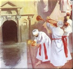 feast of tabernacles water pouring ceremony - Google Search Miguel Angel, Feasts Of The Lord, Feast Of Tabernacles, The Tabernacle, Christian, Holidays, Painting, Image, Connection