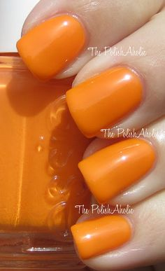'Action' is a traffic cone orange neon - Poppy Razzi collection - neons summer 2012.