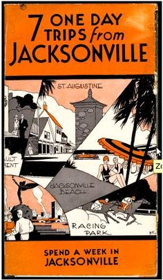 This vintage 1930's brochure takes the words out of our mouth... Nocatee residents have so many great places nearby to visit!