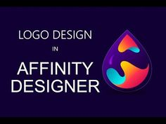 How to make Logo in Affinity Designer - YouTube