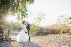 Fall California Vineyard Wedding: Abigail + Steve