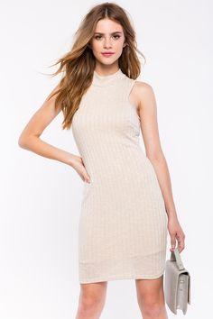 #SALE Bodycon Dresses | Nicki Cross Back Mock Mini Dress | Shop the #SALE at #A'GACI