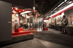 Zeitgeschichtliches Forum Leipzig by COORDINATION I Innsides #interiordesign #museum