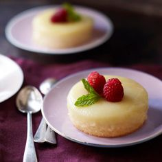 Get the recipe for Meyer Lemon Pudding Cakes