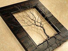 Filo intrecciato albero scultura albero della di KristinRebecca