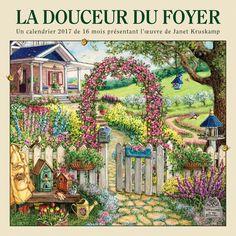 La Douceur Du Foyer 2017 Wall Calendar (French)