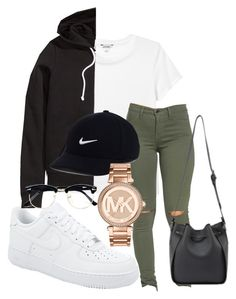 """""""IG - kingrabia"""" by rabiamiah on Polyvore featuring Monki, NIKE, H&M, Michael Kors and Topman"""
