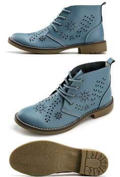 e6aabe915dc Awesome blue leather boots. And a fair price. COMFORTABLE walking shoes.  Cute flat shoes. I pick products I love. As an Amazon Associate I earn from  ...