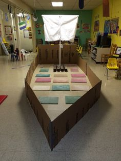 vbs on Pinterest | Jesus Calms The Storm, Cardboard Pirate Ships ...