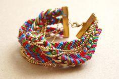 Friendship bracelet DIY