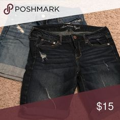 American eagle shorts bundle See separate listing for details. Just putting in bundle for bigger discount!Ok ladies! Final sale... I dropped everything in my closet by half or more to get rid of it all!!!! Kidney foundation is coming tom afternoon to pick up what is left... not only is everything slashed in half or more but you get even more of a discount if you bundle. It's the max discount that posh will allow so spread the word and buy buy buy!!!!!! Thank you sweet posh friends…