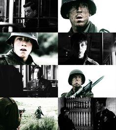 Band of Brothers. Absolutely gripping and heartbreaking.