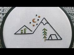 Diy Easy Embroidery, Simple Embroidery Designs, Diy Embroidery Patterns, Basic Embroidery Stitches, Embroidery On Clothes, Cute Embroidery, Modern Embroidery, Embroidery For Beginners, Cross Stitch Embroidery