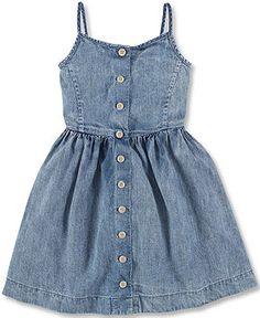 Ralph Lauren Little Girls' Denim Dress