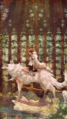 My childhood favourite.  Princess Mononoke