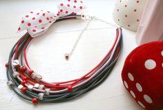 terinela / A kolik puntíků mají vlastně hrací kostky? ; ) ♥ Washer Necklace, Jewelry, Jewlery, Jewerly, Schmuck, Jewels, Jewelery, Fine Jewelry, Jewel