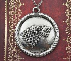 Game of Thrones Stark Dire wolf locket