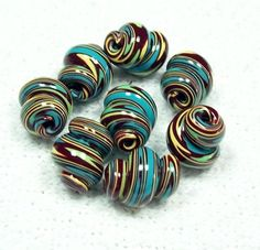 17 Best ideas about Polymer Clay Beads on Pinterest | Polymer ...
