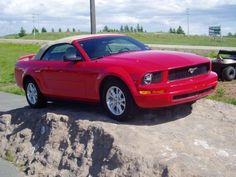 The red convertible Mustang you've been looking for!
