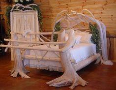 Burl Wood Bedroom Furniture   Rustic Bedroom Furniture, Log Bed, Mission Beds, Burl Wood Furnishings ...