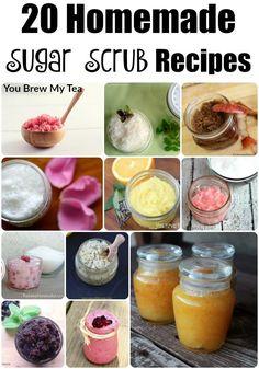 20 Homemade Sugar Scrub Recipes