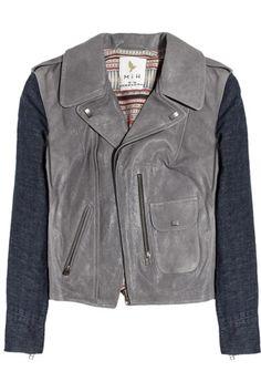 Leather/Denim Jacket MiH