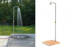 Everything you need to know about buying & installing an outdoor shower