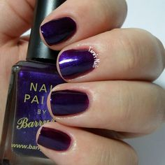 Barry M Vivid Purple