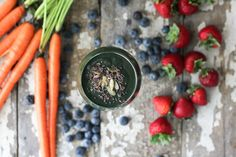 Nutrition Stripped | Beauty Green Smoothie | http://nutritionstripped.com/beauty-green-smoothie/