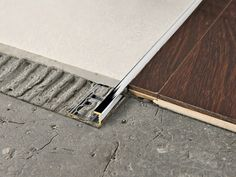 Chromed brass Flooring joint PROELEGANT | Chromed brass Flooring joint - PROGRESS PROFILES