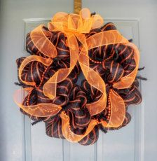 Wreaths in Decor & Party > Home Decor - Etsy Halloween