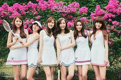 GFRIEND reveals refreshing tennis-themed teaser images for 'L. Kpop Girl Groups, Korean Girl Groups, Kpop Girls, Bubblegum Pop, Asian Woman, Asian Girl, Gfriend Album, Gfriend Profile, Style
